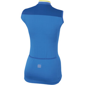 Sportful Grace Sleeveless Jersey Women Parrot Blue/Blue Cosmic